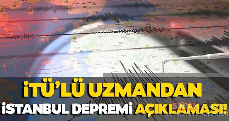 Son Dakika haberi: Ünlü uzmandan korkutan İstanbul depremi açıklaması! İşte detaylar...