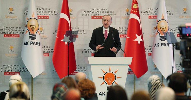 Cumhurbaşkanı Erdoğan, Güneydoğu'da ikinci kadın belediye başkanı olan Çakmak'tan övgüyle bahsetti