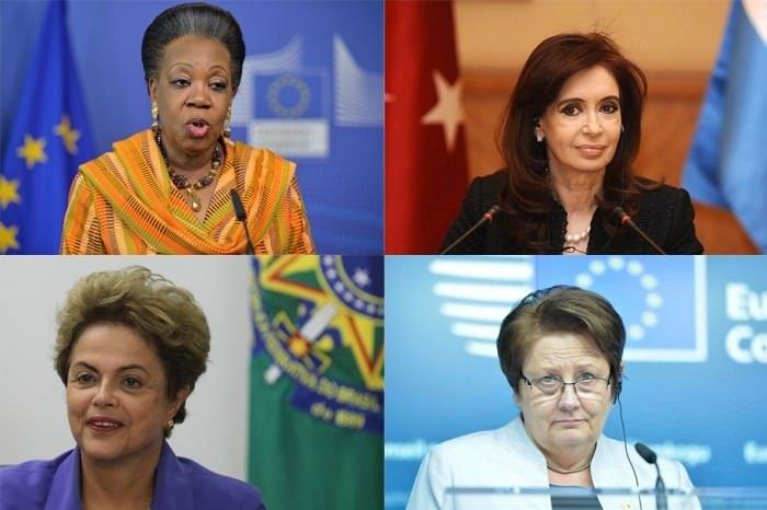 Kadın liderlerin yönettiği ülkeler