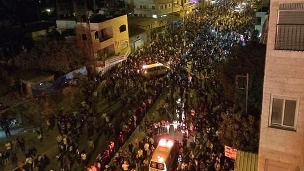 Tüm Filistin Gazze için ayaklandı
