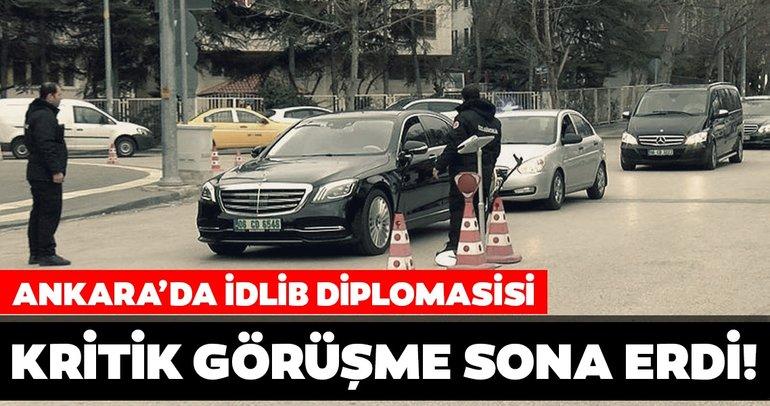 Son dakika haberi: Ankara'da idlib diplomasisi... Kritik görüşmede neler vurgulandı?