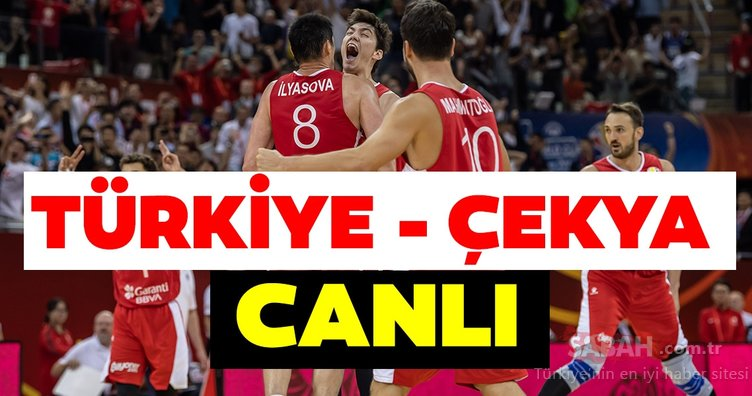 Türkiye Çekya basket maçı saat kaçta, hangi kanalda canlı yayınlanacak? Türkiye Çekya maçı nasıl canlı izlenir?