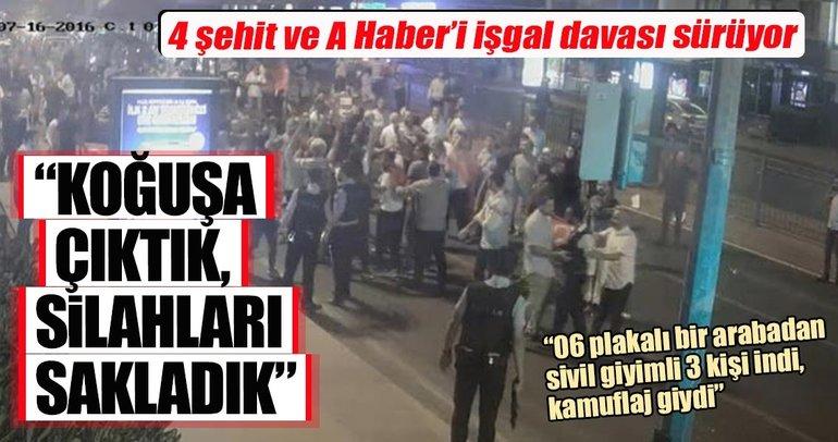 Albay Ertürk'ün şehit edilmesi ve A Haber'i işgal davasında, kışladaki görüntüler izlendi