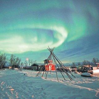 Bir doğa şöleni: Kuzey ışıkları