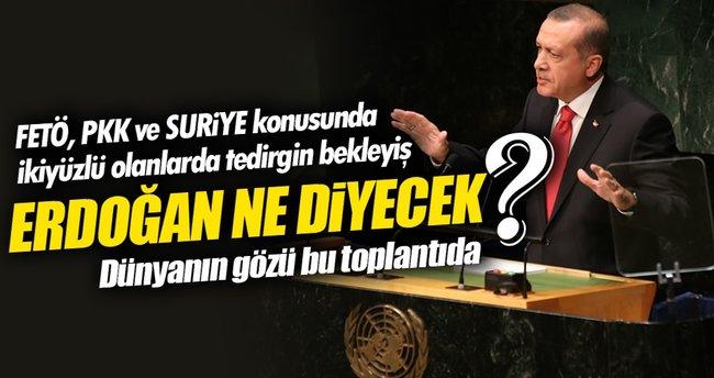 Erdoğan BM Genel Kurulunda konuşacak