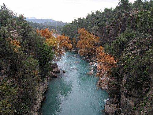 Türkiyenin en güzel kanyonları