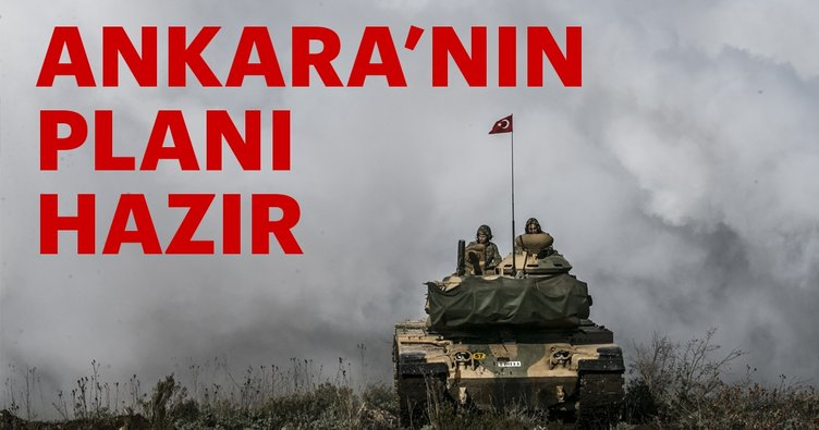 Ankara'nın güvenli bölge ajandası hazır