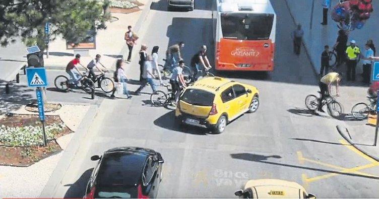 Gaziantep polisinden dronelu denetim