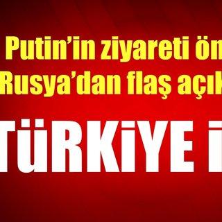 Son dakika: Rusya'dan Putin ve Erdoğan görüşmesine ilişkin flaş açıklama