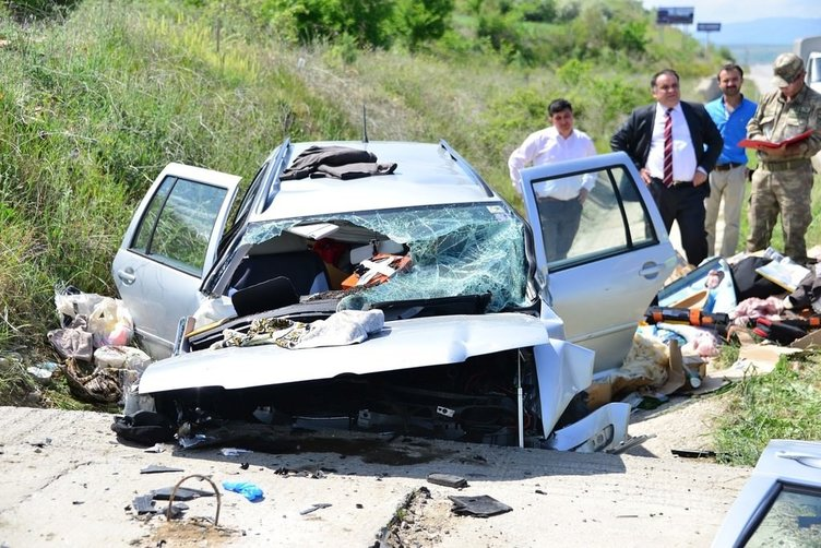 Tokat'ta feci kaza: 2 ölü