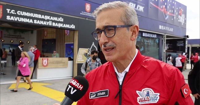Savunma Sanayii Başkanı İsmail Demir SABAH TV'ye konuştu: Yeni projeler gelecek mi?