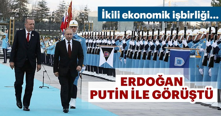 Cumhurbaşkanı Erdoğan, Putin ile telefonda görüştü.