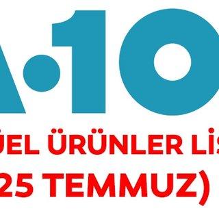 A101 25 Temmuz 2019 aktüel ürünler kataloğu yayınlandı! A101 kataloğunda bu hafta kaçırılmayacak fırsatlar var!