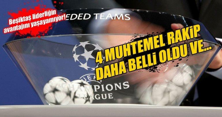 İşte Beşiktaş'ın Şampiyonlar Ligi 2. turundaki muhtemel rakipleri