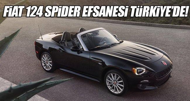Fiat 124 Spider Türkiye'de tanıtıldı