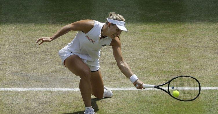 Wimbledon'da ilk finalist Kerber
