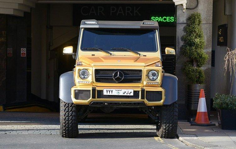 Suudi Arabistan Kralı 16 kamyonla geliyor!