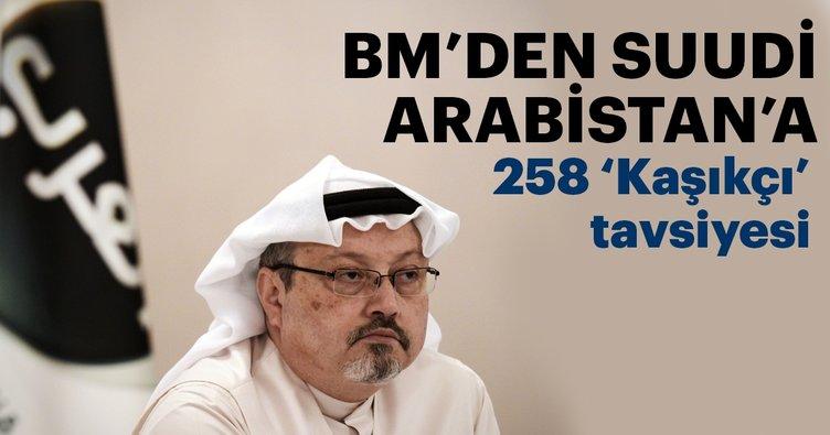 BM İnsan Hakları Konseyi'nden Suudi Arabistan'a Kaşıkçı tavsiyeleri