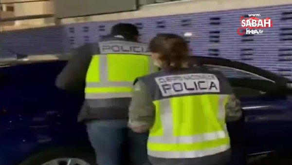 Avrupa'nın en çok arananlar listesindeki Fransız, Barcelona'da yakalandı | Video