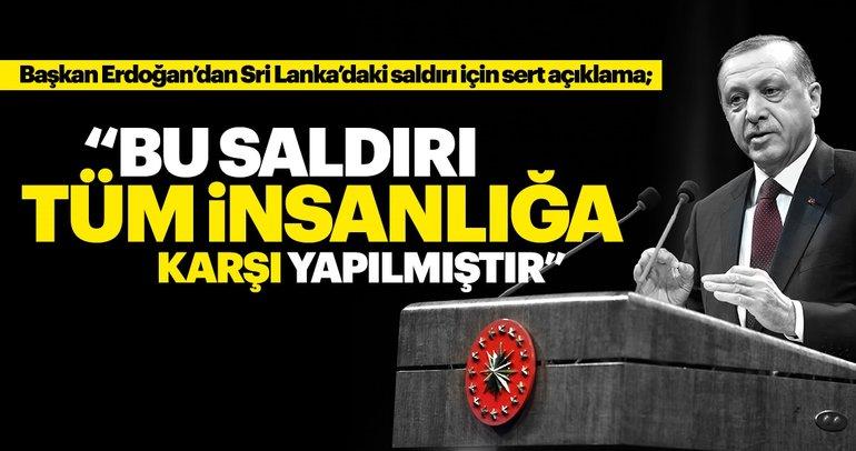 Son Dakika: Başkan Erdoğan'dan Sri Lanka açıklaması!
