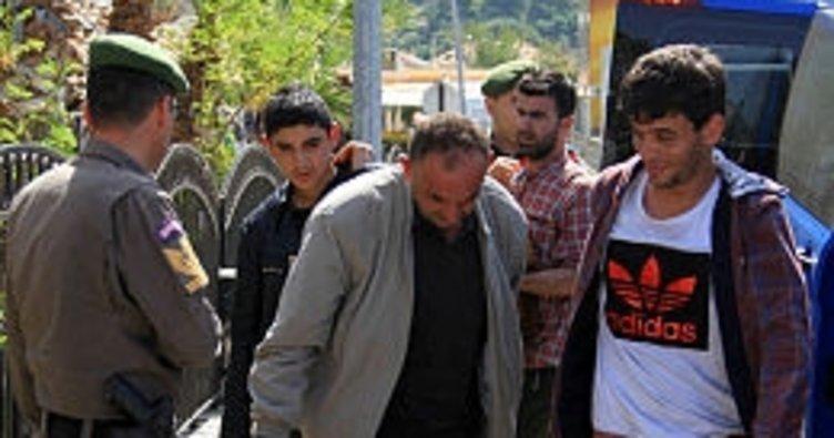Muğla'da 111 yabancı uyruklu yakalandı