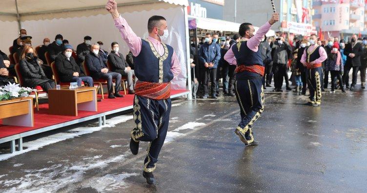 Ardahan'da 100'üncü yıl kutlaması