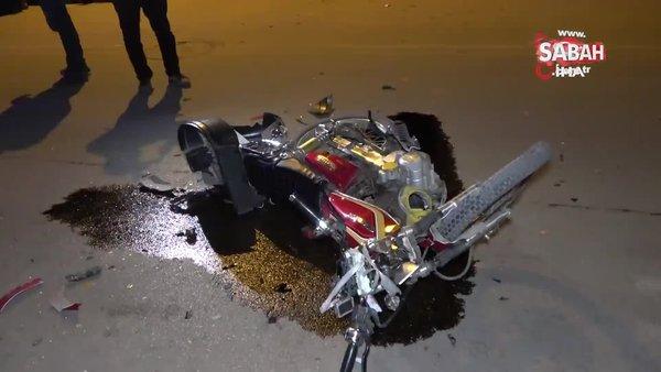 Motosikletli kişiye vurup kaçan sürücü yakalanınca