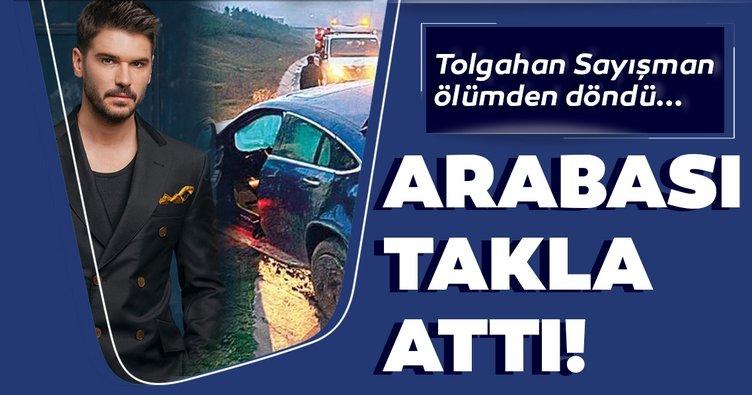 Son Dakika Haberler: Tolgahan Sayışman trafik kazası geçirdi!