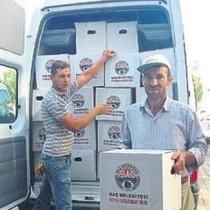 Kaş Belediyesi'nin Ramazan desteği