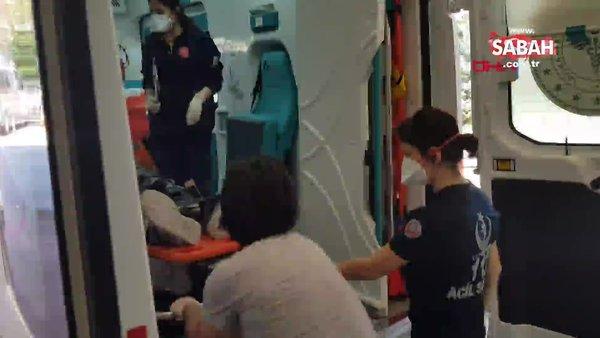 Kocaeli'de balyozla yıktığı duvarın altında kalan işçi yaralandı!
