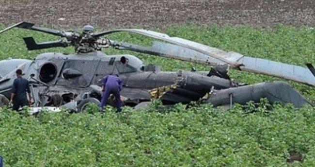 İsviçre'de helikopter kazası