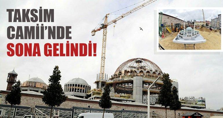Son dakika: Beyoğlu Belediye Başkanı Ahmet Misbah Demircan: Taksim Camii'nin yüzde 90'nı tamamlandı