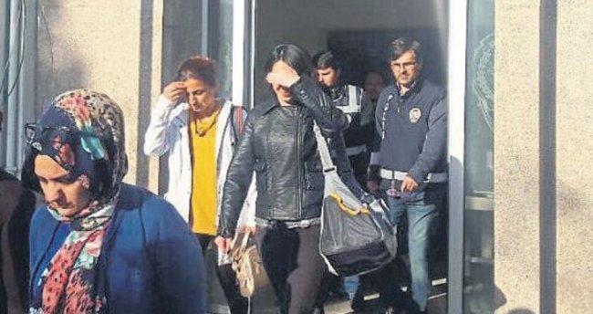 Kadın dolandırıcıları kadın müdür yakaladı