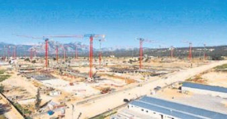 Antalya'da 5 bin kişiye iş verecek