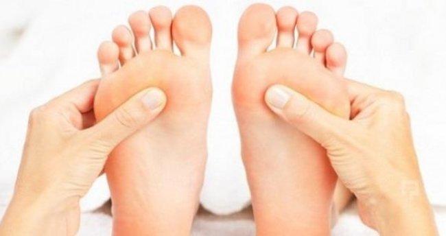 ayaklarda karincalanma ya neden olan