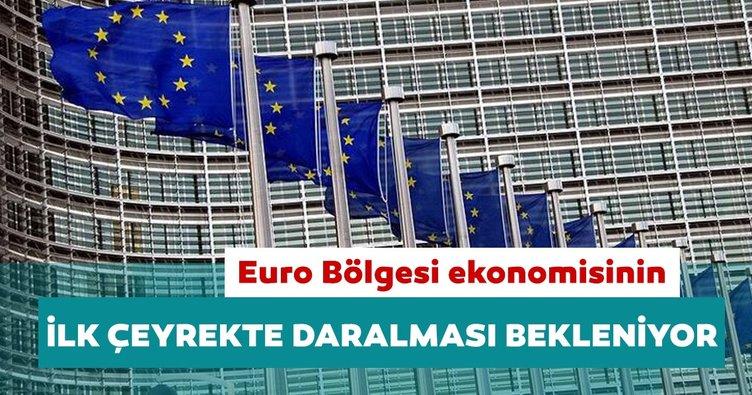 Euro Bölgesi ekonomisinin ilk çeyrekte daralması bekleniyor