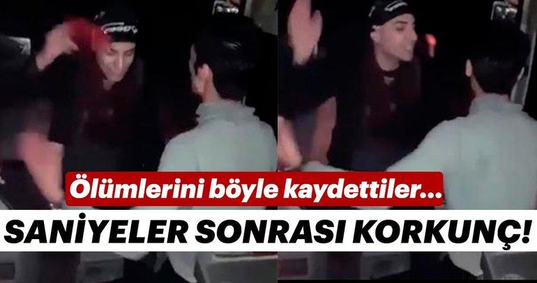 Adana'da 3 kişinin öldüğü kaza, başka bir yolcu tarafından görüntülenmiş
