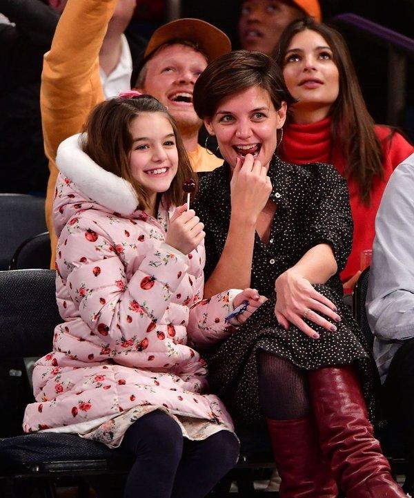 Katie Holmes'tan güzellik ve annelik tüyoları