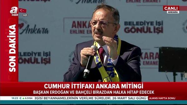 Cumhur İttifakı Ankara Büyükşehir Belediye Başkan Adayı Mehmet Özhaseki önemli açıklamalarda bulundu