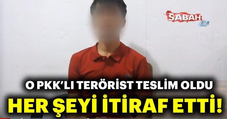 Son dakika: Van'da aranan PKK'lı teslim oldu