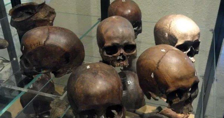 Göl mezarından antik insan kalıntıları çıktı