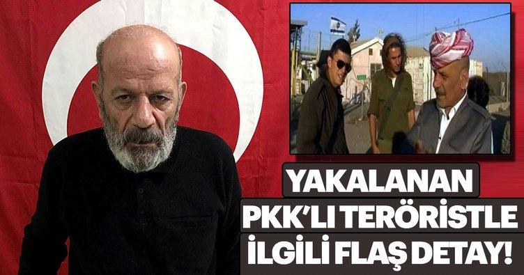 Yakalanan PKK'lı Baghestani'yle ilgili flaş detay