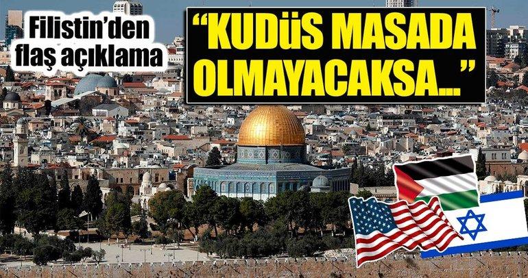 """""""Kudüs masada olmayacaksa ABD de olmaz"""""""