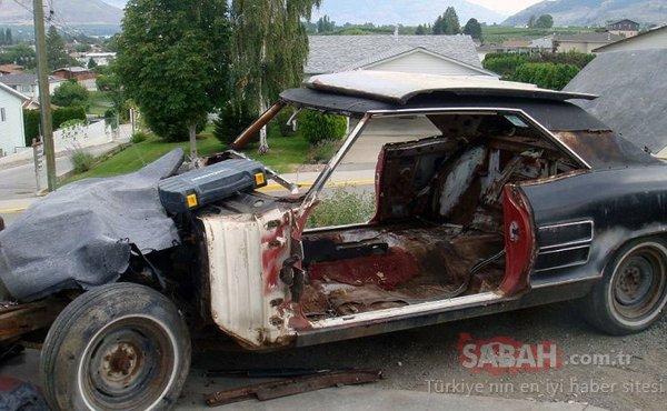 1200 liraya aldığı hurda arabayı şimdi 8 milyon liraya satıyor! İşte şaşkına çeviren büyük değişim!
