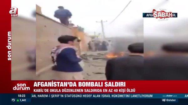 Son dakika: Afganistan'da bombalı saldırı!   Video