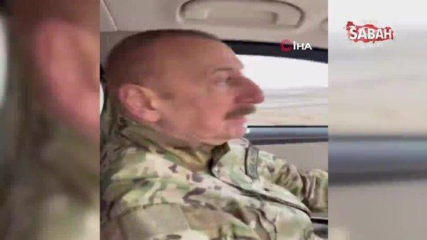 Azerbaycan Cumhurbaşkanı Aliyev, Füzuli-Şuşa karayolunun temelini attı | Video