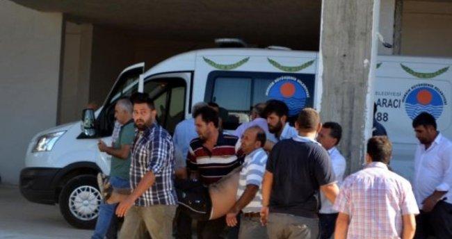 Mersin'de 10'uncu katta düşen işçi öldü