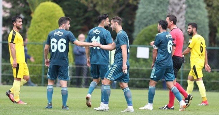 Fenerbahçe hazırlık maçında İstanbulspor'u yendi