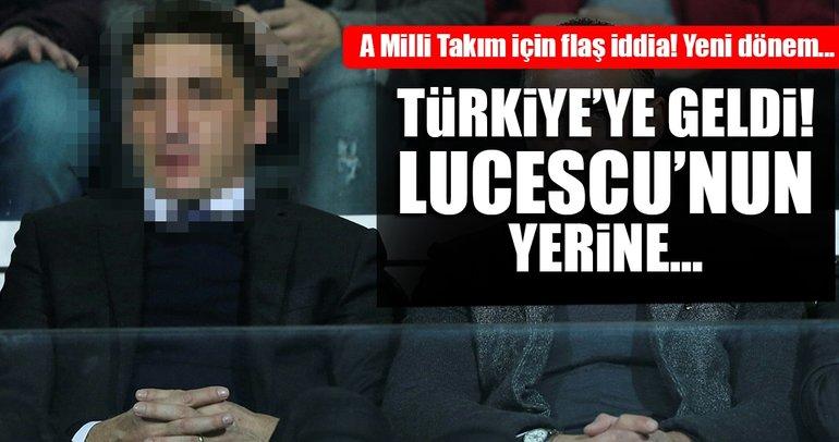 Milli Takım'da yeni bir dönem mi başlıyor? Türkiye'ye geldi...