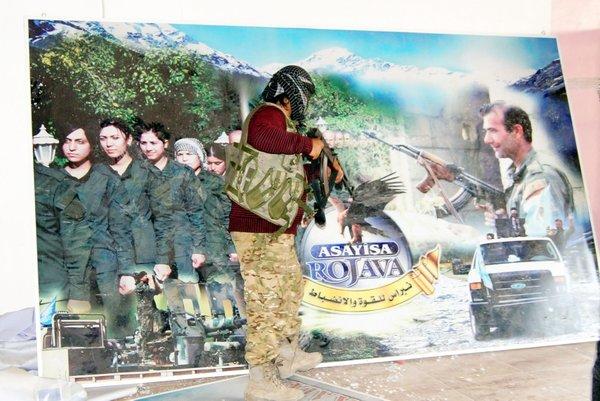 Resulayn'da teröristlerin eğitim kampı ortaya çıkarıldı